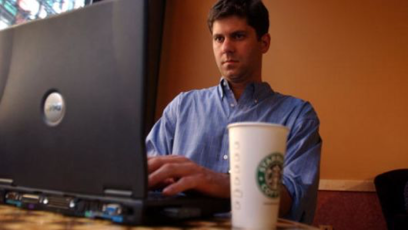 Man You've Seen Work On Screenplay At Starbucks Every Day Nearly Finished