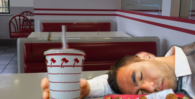Local Man Vegan Except When Drunk At In-N-Out After Midnight