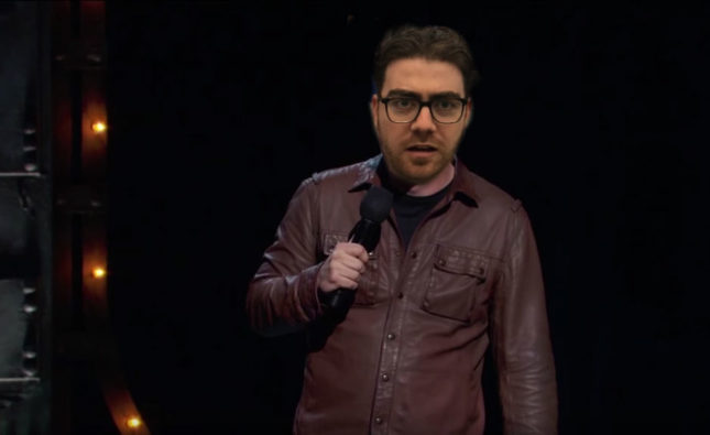 Comedian To Debut Edgier Material To Go With New Leather Jacket