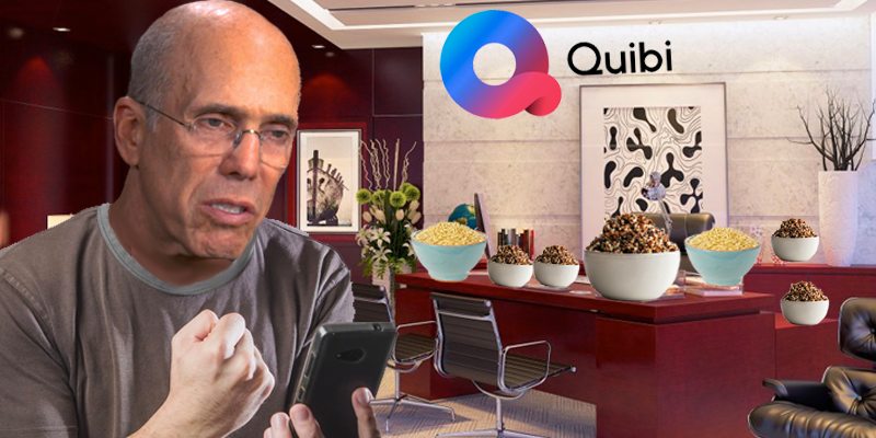 """Quibi"" Keeps Auto-Correcting To ""Quinoa"" on Jeffrey Katzenberg's iPhone And He Isn't Happy About It"