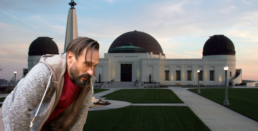 Griffith Observatory Guest Unexpectedly Forced to Climb a Fucking Mountain Due to Lack of God Damn Parking