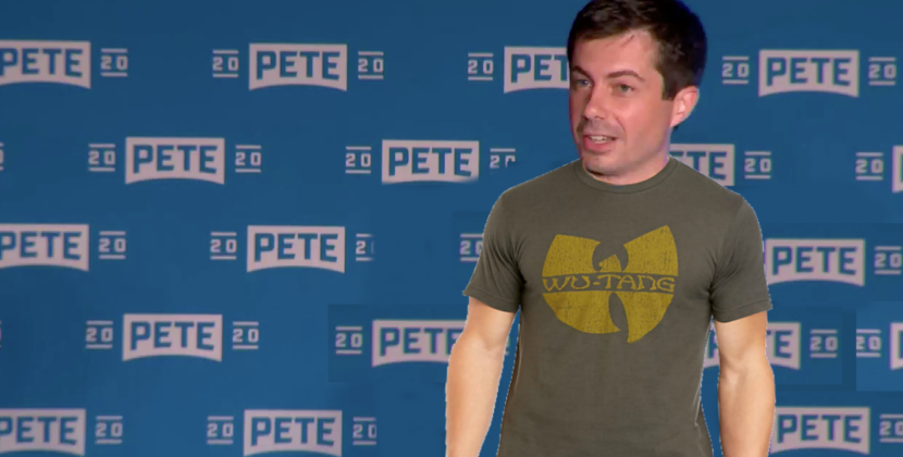 Buttigieg's Plan To Attract Black Voters: This Wu-Tang Shirt