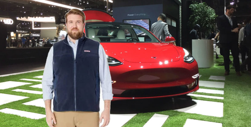 LA Auto Show Just A Bunch Of Dudes Showing Off Their Teslas