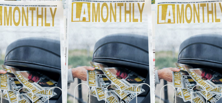 "LA Weekly To Rebrand As ""LA Monthly"" Amid Declining Readership"