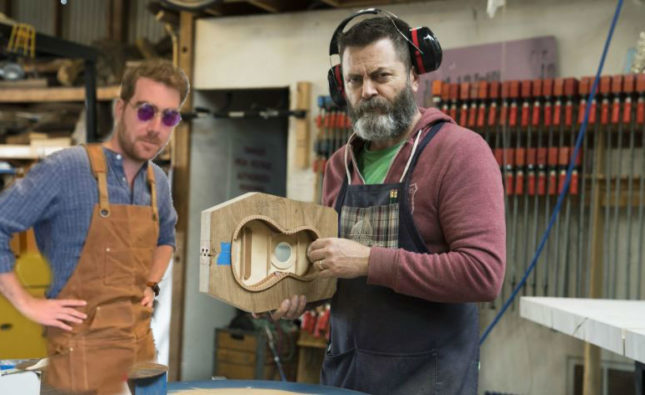 I Took Nick Offerman's Acting Class And All I Learned Was How To Build A Canoe