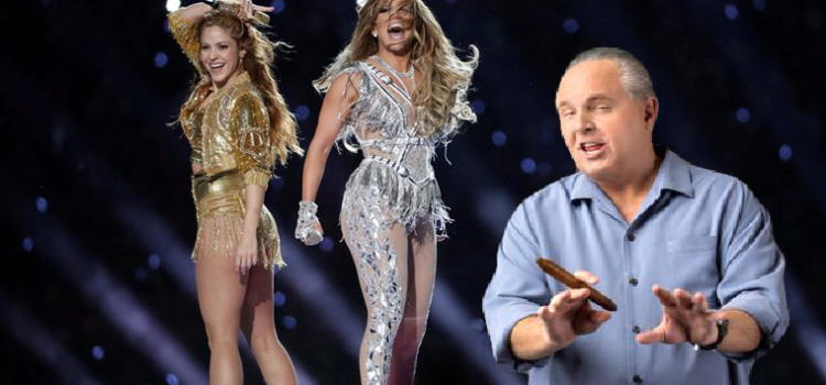 Rush Limbaugh Blames Cancer Diagnosis on Un-American J. Lo/ Shakira Superbowl Halftime Performance