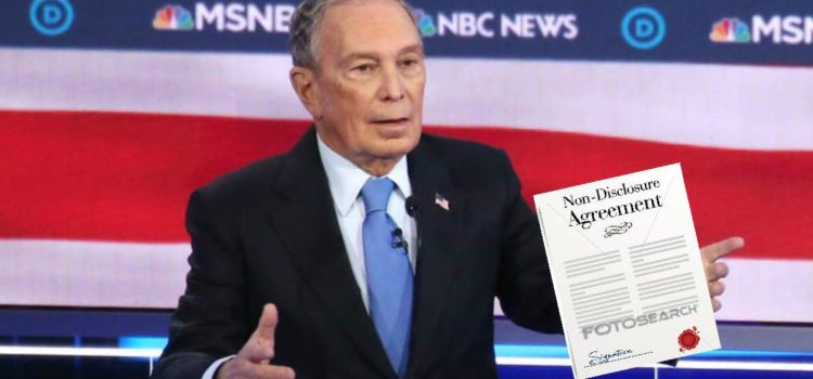 Bloomberg Insists Debate Audience Sign Non-Disclosure Agreement
