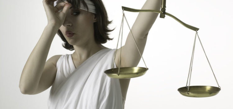 Breaking: Lady Justice Resigns