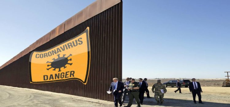 Trump Doesn't Understand How Corona Spread Since China Has That Big Ass Wall