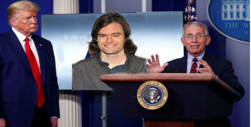 Experts Fear Extended Lockdown Will Result In Bill Hader Growing His Hair Long Again