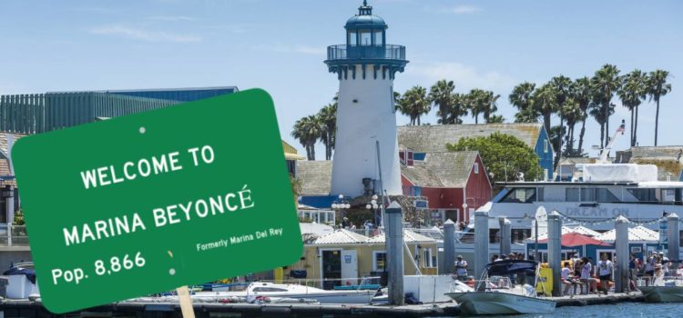 "Marina Del Rey To Rebrand As ""Marina Beyoncé"" Following Lana Del Rey Backlash"