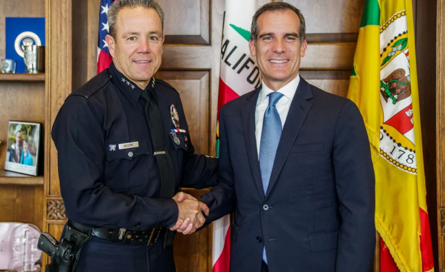 Mayor Disciplines LAPD For Attacks On Protesters With $1.8 Billion Police Budget
