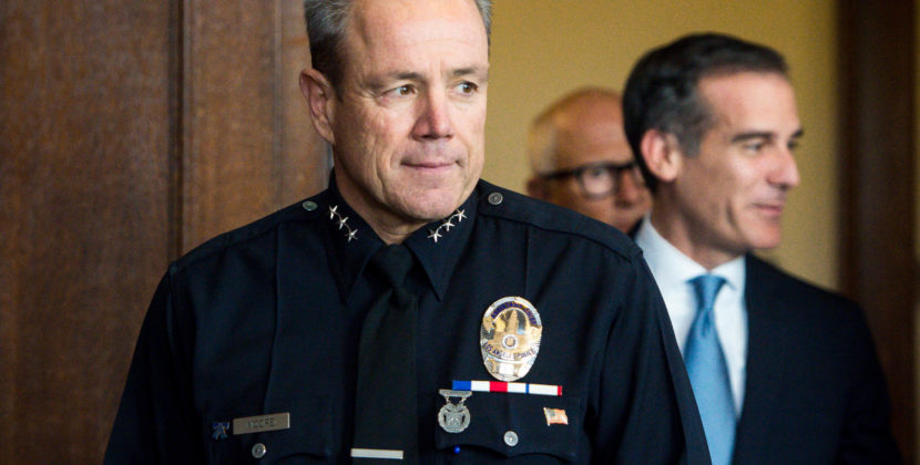 L.A. Police Chief Resigns…Himself To Being A Racist That's Bad At His Job